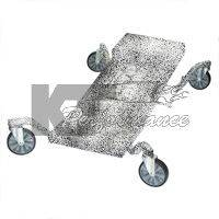 """TraXion Engineered Products - TraXion Caster 5"""" Solid With PVC Tread - Image 3"""