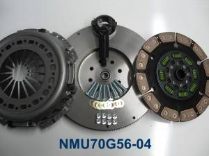 Valair Performance Clutches - Valair Performance Single Disk Clutch, Dodge (2005.5-12) Cummins G56, 600hp/1100fpt