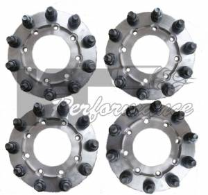 Wheels & Tires - Wheel Adapters - Diamond T Enterprieses - Diamond T Enterprises 10 Lug Dually Adapters, Dodge (2009-13) 4500/5500 Dually (front & rear)