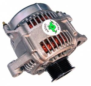Engine Parts - Alternators - Mean Green - Mean Green High Output Alternator, Toyota Land Cruiser (2004-08) 4.2L Diesel