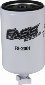 Fuel Pump Systems - Replacement Fuel Filters - FASS Diesel Fuel Systems - FASS Titanium Series Replacement Fuel Filters, Water Separator (for blue & red models)