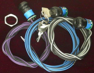 EFI Live - EFI Live Key Lock DSP5 Selector Switch, Chevy (2001-04) 6.6L Duramax LB7 (Blue Wire)