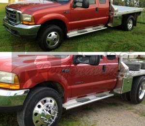 Diamond T Enterprises - Diamond T 10 Lug Dually Wheel Adapters, Ford (1999-04) F-350/F-450/F-550 Dually (front & rear) (8 on 170) - Image 4