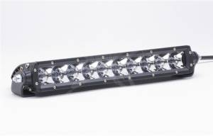 "Off-Road Lighting - Single Row LED Light Bars - Rigid Industries - Rigid Industries, 10"" SR-Series LED Light Bar, Spot, Amber"