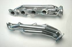 Engine Parts - Exhaust Manifolds - Gibson Performance - Gibson Shorty Headers, Toyota (2000-04) Tundra & (01-04) Sequoia 4.7L 2wd, Nickel Chrome Plated Steel
