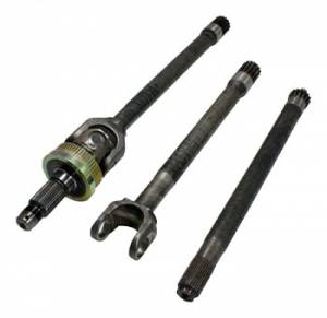 Axles & Axle Parts - Axle - Front Inner Left - Yukon Gear & Axle - Yukon 1541H replacement inner axle for Dana 44 ('88-'93 with disconnect design)