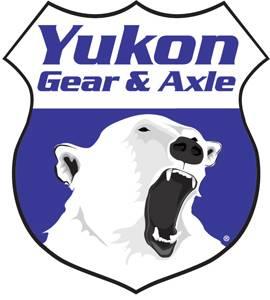 "Yukon 4340 Chrome-Moly blank axle for Dana 60, 38"" long"