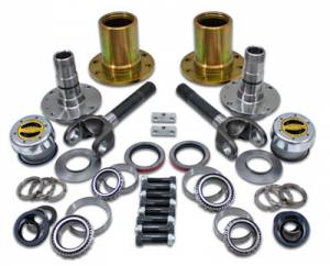 "Axles & Axle Parts - Locking Hub Conversion Kits - Yukon Gear & Axle - Spin Free Locking Hub Conversion Kit for Dana 30 TJ, XJ, YJ, 30 Spline, 5 x 5.5"" Pattern"