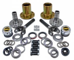 """Axles & Axle Parts - Locking Hub Conversion Kits - Yukon Gear & Axle - Spin Free Locking Hub Conversion Kit for Dana 30 TJ, XJ, YJ, 30 Spline, 5 x 5.5"""" Pattern"""