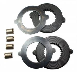 "Cases & Spiders - Clutch Kits - Yukon Gear & Axle - 8.25"" Chrysler, Model 35, D36 ICA, & Dana 28 TracLoc clutch set."