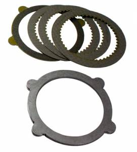"Cases & Spiders - Clutch Kits - Yukon Gear & Axle - 8"" & 9"" Ford 4-Tab Clutch kit with 9 pieces"