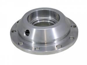 Yukon heavy-duty aluminum pinion support, 28 spline pinion, 10 mounting holes.