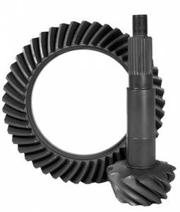Axles & Axle Parts - Ring & Pinion Sets - Yukon Gear Ring & Pinion Sets - High performance Yukon replacement Ring & Pinion gear set for Dana 44 in a 4.56 ratio, thick