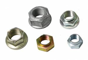 "Small Parts & Seals - Pinion Nut Washers - Yukon Gear & Axle - Chrysler 8.75"" (coarse spline) pinion nut washer"