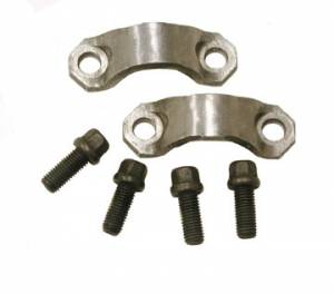 "Yokes - Yoke Strap & U-Bolt Kits - Yukon Gear & Axle - 7290 U/Joint Strap kit (4 Bolts and 2 Straps) for Chrysler 7.25"", 8.25"", 8.75"", and 9.25""."