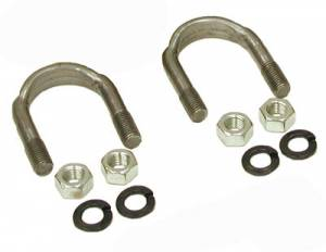 "Yokes - Yoke Strap & U-Bolt Kits - Yukon Gear & Axle - 1310 and 1330 U/Bolt kit (2 U-Bolts and 4 Nuts) for 9"" Ford."