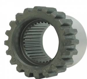 "Yokes - Yokes - Yukon Gear & Axle - Yukon 35 spline (outside spline) male coupler for 9"" Ford."