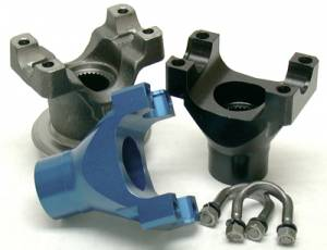 "Yokes - Yokes - Yukon Gear & Axle - Yukon cast yoke for GM 8.5"" with a 1350 U/Joint size."