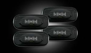 Recon Dually Fender Lights, Dodge (2010-14) 3500 Ram Dually, Smoked