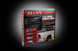 Recon - Recon Dually Fender Lights, Dodge (1994-02) 3500 Ram Dually, Smoked - Image 3