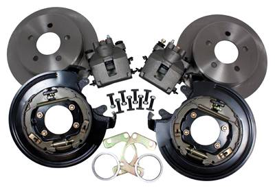 Brakes & Exhaust Brakes - Disc Brake Conversion Kits