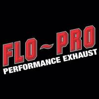 "Flo Pro Exhaust - Flo-Pro 4"" Down-Pipe Back Exhaust, Ford (2008-10) 6.4L Off-Road Race Kit, Aluminized"
