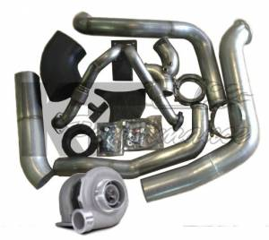 Irate Diesel Performance - Irate Diesel S369-FMW T4 Complete Turbo Kit, Ford (1994-03) 7.3L Power Stroke
