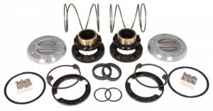 Axles & Axle Parts - Locking Hubs - Yukon Hardcore - Yukon Hardcore Locking Hub set for Dana 44, GM & Ford 1/2 & 3/4 ton, 19 spline