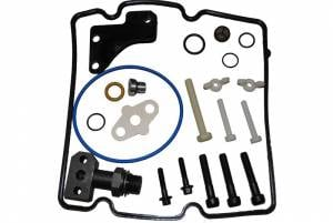 Engine Gaskets & Seals - Engine Overhaul Kits - Ford Genuine Parts - Ford Motorcraft HPOP STC Fitting Update Kit, Ford (2004.5-10) 6.0L Power Stroke Diesel (Also fits 4.5L Power Stroke)
