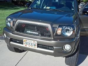 """Exterior Accessories - Grilles - Rigid Industries - Rigid Industries LED Grille, Toyota (2005-10) Tacoma (10"""" SR-Series)"""