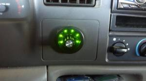 Diamond T Enterprises - Diamond T 6 Position Selector Switch for TS Performance Chip, Green LEDs - Image 5