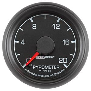 "2-1/16"" Gauges - Auto Meter Ford Factory Match - Autometer - Auto Meter Ford Factory Match, EGT Pyrometer (8445), 2000*"