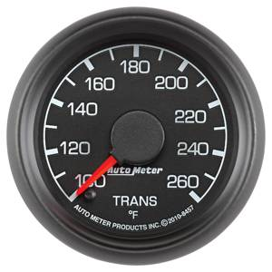 "2-1/16"" Gauges - Auto Meter Ford Factory Match - Autometer - Auto Meter Ford Factory Match, Transmission Temperature (8457), Full Sweep"