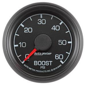 "2-1/16"" Gauges - Auto Meter Ford Factory Match - Autometer - Auto Meter Ford Factory Match, Boost Pressure (8405), 60psi"