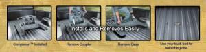 B&W Trailer Hitches - B&W Gooseneck Companion 5th Wheel Hitch Converter - Image 7